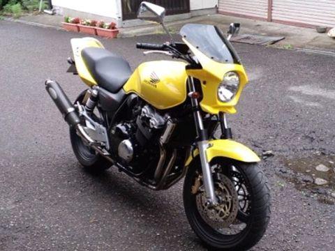 世界行走通用比基尼整流罩DS-01 typeAERO(珍珠閃爍黃色)