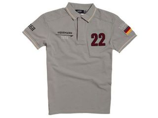 14328:HANS HERMANN 1954 POLO(グレイ)
