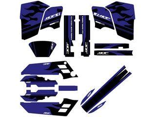 MDF SEROW(89-96) グラフィックキット ファイアーモデル ブルータイプ タイプ:コンプリートセット