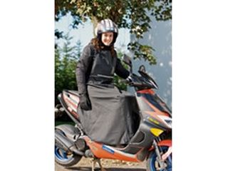 17650:UNISEX RAIN PROTECTION FOR SCOOTER DRIVERS(ブラック)