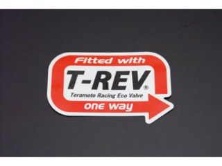 117830:T-REV Fitted With  ステッカー