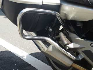 132984:K1600 パニアガード(R-style BMW K1600 Pannier protection bar)