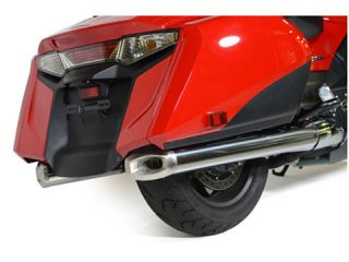 147116:Slip-On System Stainless Steel Gold Wing/F6B