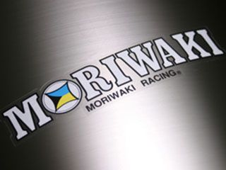 175822:MORIWAKI RACING ステッカー L