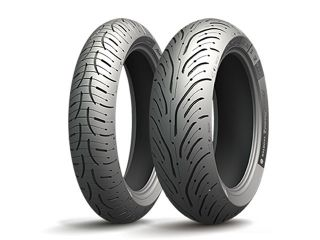 185501:PILOT ROAD 4 SCOOTER 120/70R15 56H TL フロント