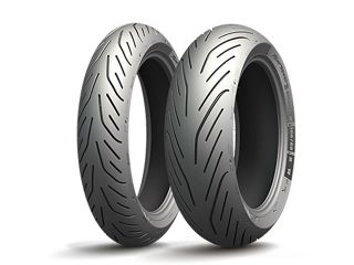 185507:PILOT POWER 3 SCOOTER 120/70R15 56H TL フロント
