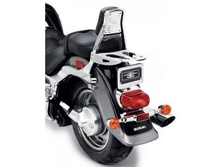 25743:Rear Rack Chrome Intruder M1500(09-10),C1800R(08-11),Intruder M800(10-11)