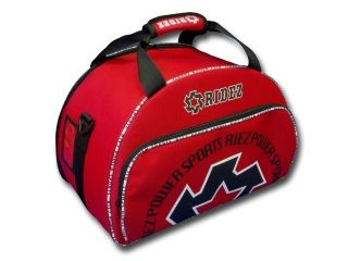 28384:RIDEZ HELMET BAG(レッド)