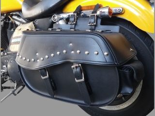 29560:59002 SINGLE SADDLE BAG(ブラック)