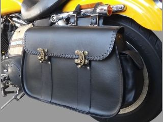 29561:59008 SINGLE SADDLE BAG(ブラック)