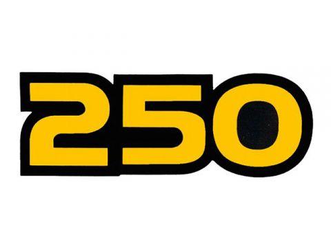 VINTAGE SUZUKI 1982 RM250 『250』 サイドパネルデカールセット(PR)