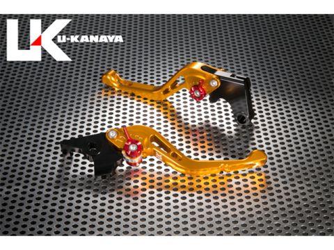 U形金谷GP型加工鋁坯短槓桿(槓桿顏色:金)調節調節器顏色:鈦