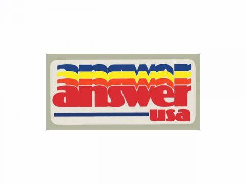 FAST GUY STUFF Answer USA decal (small)