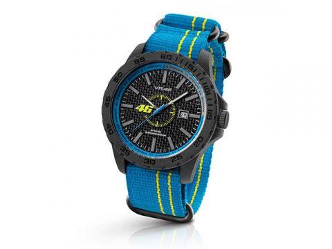 VR46 VR | 46 WATCH BY TW STEEL藍色帆布(VR12)