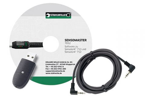 STAHLWILLE USB cable + software for 7759-1 712R · 713R (96583625)