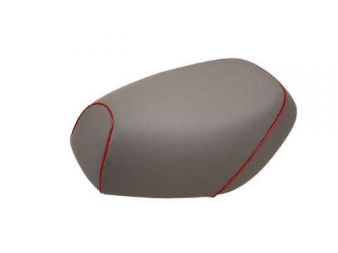 Gurondoman address 110 (EBJ-CE47A) 4-stroke / Suzuki Gurondoman domestic seat cover Chokawa (gray / red piping)