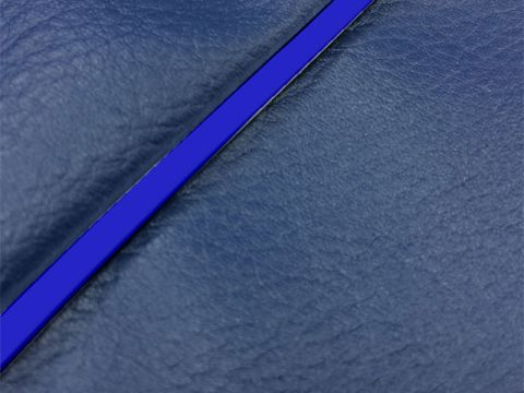 Gurondoman address 110 (EBJ-CE47A) 4-stroke / Suzuki Gurondoman domestic seat cover Chokawa (navy / blue piping)
