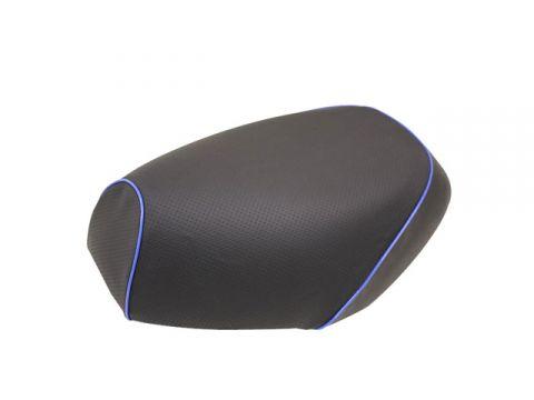 Gurondoman address 110 (EBJ-CE47A) 4-stroke / Suzuki Gurondoman domestic seat cover Chokawa (embossed black / blue piping)