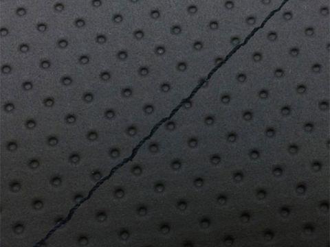 Gurondoman address 110 (EBJ-CE47A) 4-stroke / Suzuki Gurondoman domestic seat cover Chokawa (full embossed Black / Black Stitch)