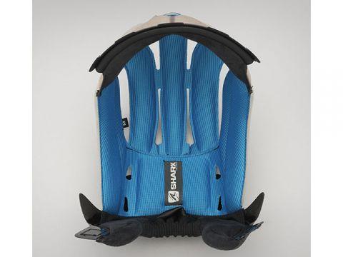 鯊魚頭盔舒適襯裡(藍色)尺碼:M