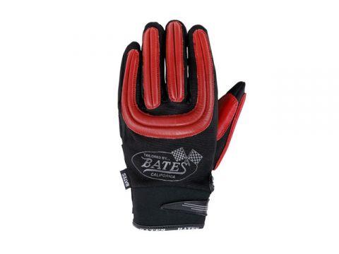 貝茨2018春夏款BAG-M020ST網和皮革手套(紅色)三月中旬後期工作室Stock尺寸:L