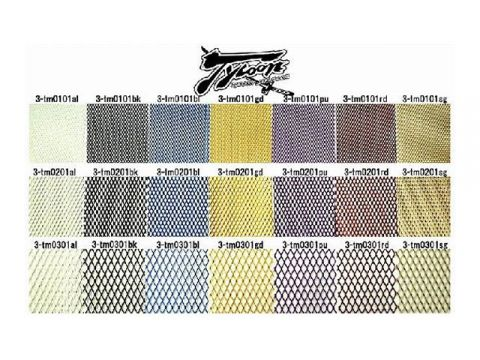 TYCOON ventilation 3D mesh sheet Color: Champagne Gold Type: Medium eyes