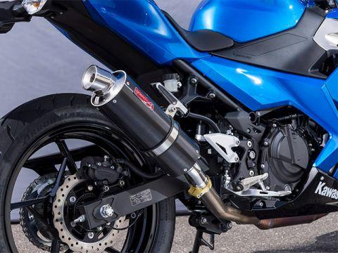 Yamamoto Racing 18 ~ Ninja250 SPEC-A SLIP-ON carbon
