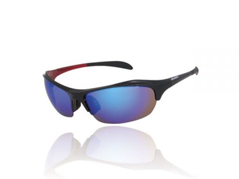 SUOMY SU-004 MODEL (Black Red / blue mirror)