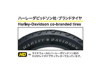 ハーレーダビットソンソフテイルヘリテイジソフテイルクラシック(FLSTC)のハーレー純正ダンロップホワイトウォールフロントタイヤはMT90B16 72H
