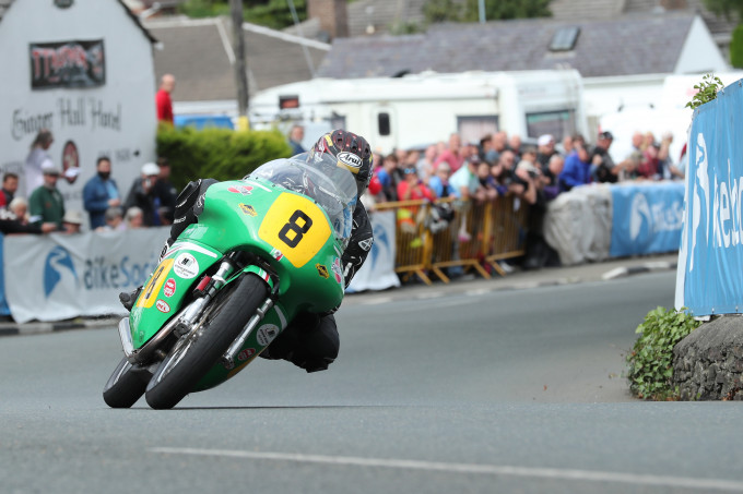 26/08/2017: Josh Brookes (500 Paton/Team Winfield) at Ginger Hall during the Bennetts Senior Classic TT race. PICTURE BY DAVE KNEEN/PACEMAKER PRESS