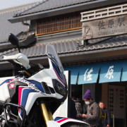 JR佐原駅にて