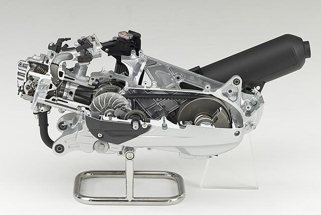 【ホンダ】 次世代125ccスクーター用エンジンを開発 バイクブロス・マガジンズ