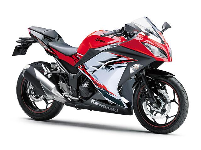 Ninja 250 ABS Special Edition パッションレッド×スターダストホワイト