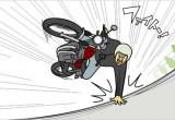 バイクでコケそうになったときに出る力とは?