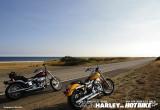 ハーレーダビッドソン 2台のハーレーでカリフォルニアを走る