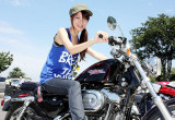 Sachiko with ハーレーダビッドソン XL1200C