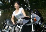 Midori with カワサキ ZRX1100