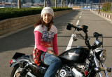 SHIHO with ハーレーダビッドソン XL883