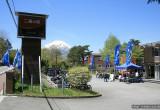 最高のロケーションで行われたロードホッパー試乗会 INユーメディア山中湖
