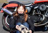 YUKA with ハーレーダビッドソン XL883R