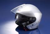 内側のシールドで眩しさ軽減 街乗りに便利なジェットヘルだ