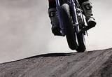 モタードバイクで林道は走れますか?