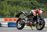 KTM 200 DUKE – 待望の小型2輪カテゴリーへの進出