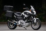 ホンダ NC700X 専用パーツの装備&リプレイスでアドベンチャー仕様に