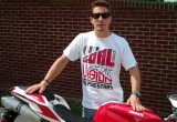 Nicky Hayden takes delivery of his own Nicky Hayden Edition 848