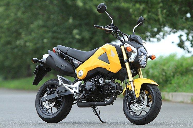 ホンダ グロム – 気軽に楽しめるマニュアルバイク 試乗インプレ・レビュー-バイクブロス・マガジンズ