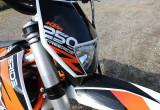 KTM フリーライド 250 R – 野山をトレッキングするバイク