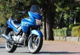 スズキ GSR250S – 人気のGSR250にハーフカウル装着モデルが登場