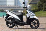 スズキ アドレス110(2015) – 低燃費と使い勝手に加え、125ccに匹敵する走りも実現