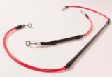 簡単装着でかっちりタッチ 機能とルックスを両立したブレーキホース